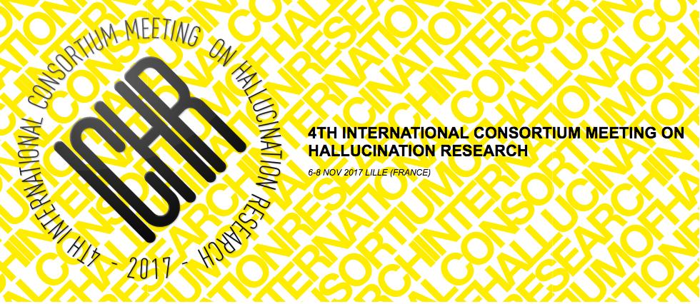 Lille, 6 au 8 novembre  4èmes Conférences internationales sur les hallucinations