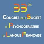 Limoges, 14 et 15 septembre  33èmes congrès de la Société de Psychogériatrie de Langue Française