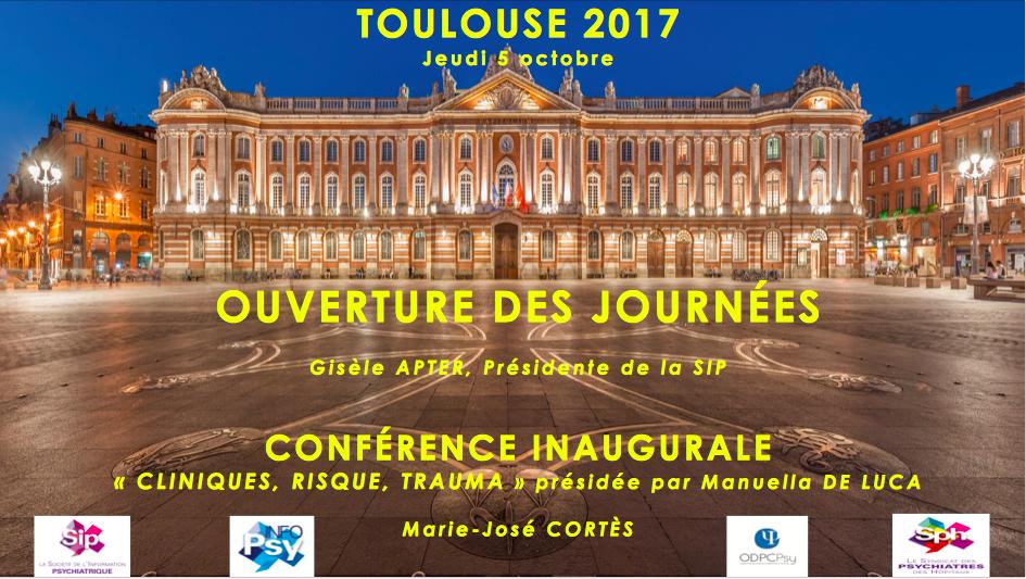 Toulouse 2017, le déroulé des 36èmes journées