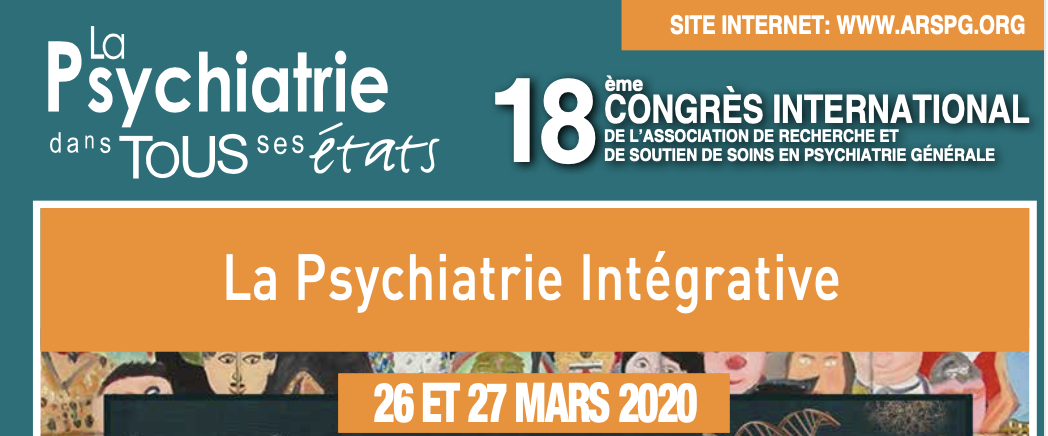 Le 18ème Congrès International de l'ARSPG se tiendra les 26 et 27 mars 2020
