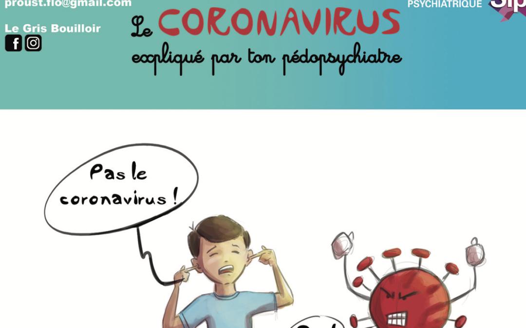 «PAS LE CORONAVIRUS», album BD diffusé par la SIP, tome 1